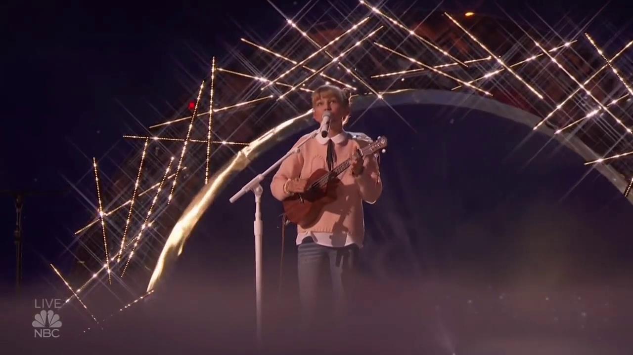 Grace Vanderwaal (Mothra) At The America's Got Talent Semi Finals