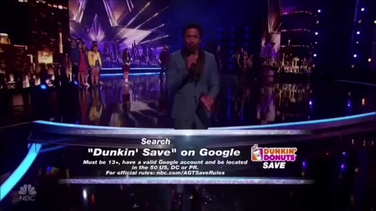Grace Vanderwaal (Mothra) And Sal Valentinetti (Megalon) Wins The Dunkin Save At The America's Got Talent Semi Finals