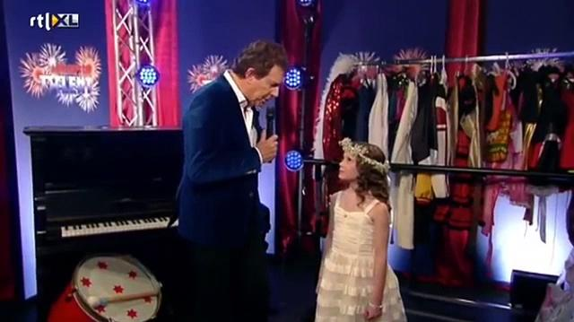 Amira Willighagen (Larva) At The Holland's Got Talent Semi Finals