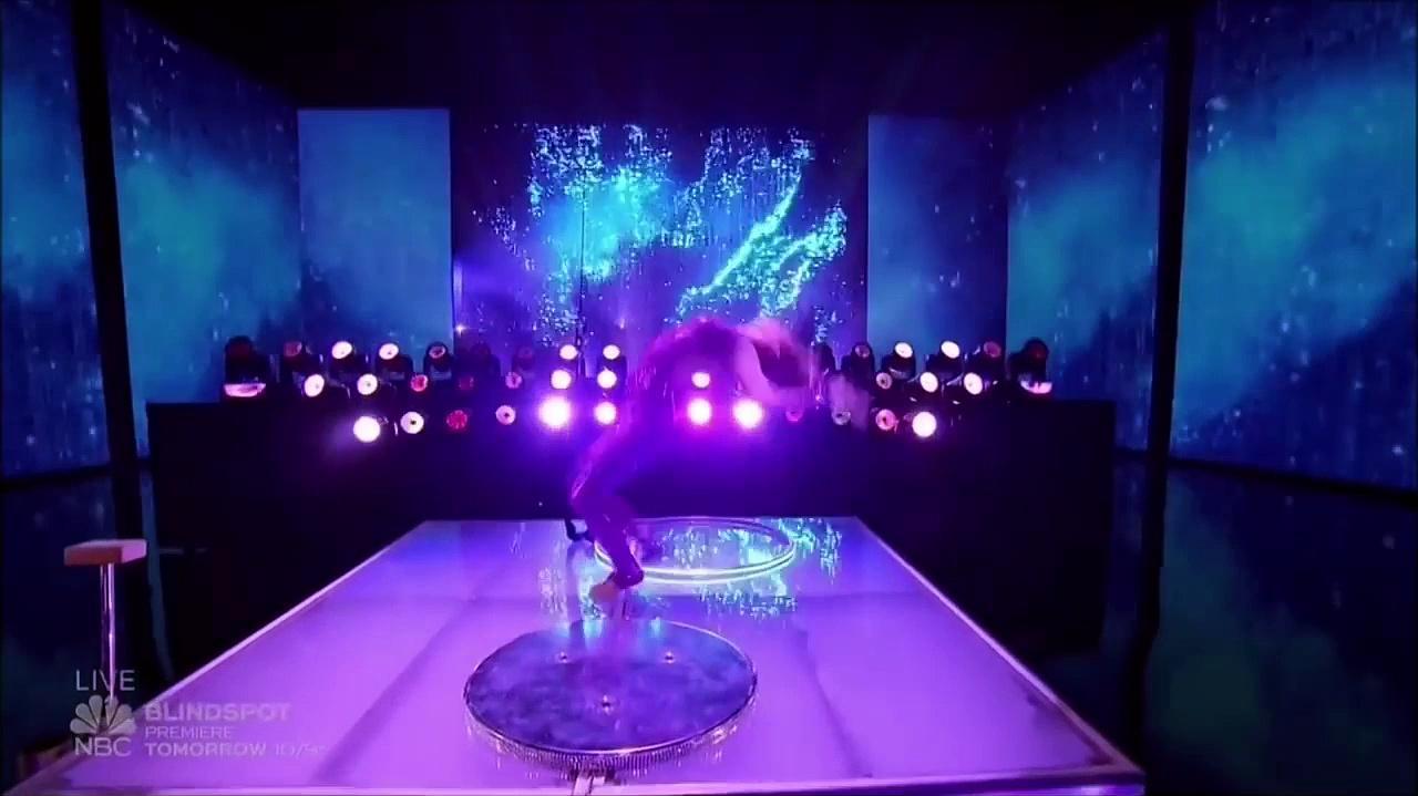 Sofie Dossi (Godzilla) At The America's Got Talent Finals