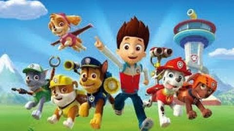 Paw Patrol - Ryders Eating Dog Food???