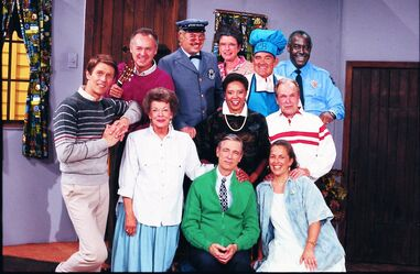 Cast of Mister Rogers