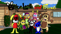Baby Lamb & Friends title poster
