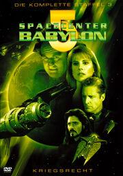 Babylon 5 - Kriegsrecht Cover-Artwork