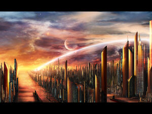 Alunaar city