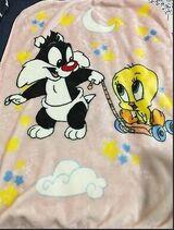 Baby Looney Tunes Blanket