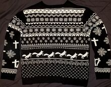 2017 Holiday Sweater back