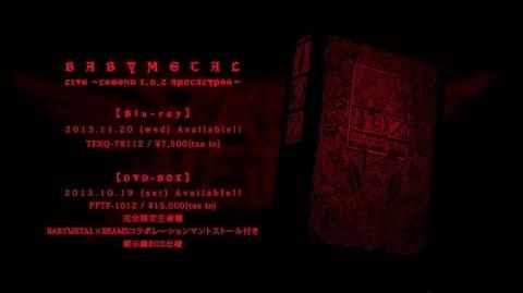 BABYMETAL - LIVE ~LEGEND I、D、Z APOCALYPSE~ Trailer