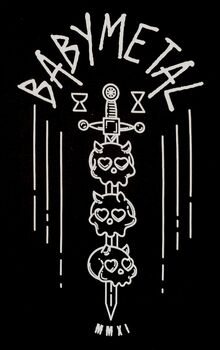 Skulls On Sword