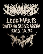 Loud park 13 back