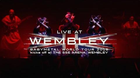 BABYMETAL - LIVE AT WEMBLEY Trailer