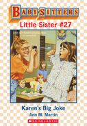 Baby-sitters Little Sister 27 Karens Big Joke ebook cover