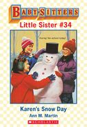 Baby-sitters Little Sister 34 Karens Snow Day ebook cover