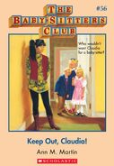 BSC 56 Keep Out Claudia ebook cover