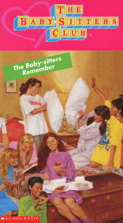 13 The Baby-sitters Remember BSC VHS front KidVision
