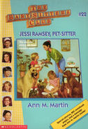 Baby-sitters Club 22 Jessi Ramsey Pet-sitter reprint cover