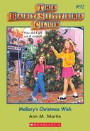 BSC 92 Mallorys Christmas Wish ebook cover