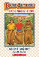 Baby-sitters Little Sister 108 Karens Field Day ebook cover