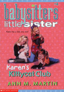 Baby-sitters Little Sister 4 Karens Kittycat Club reprint cover