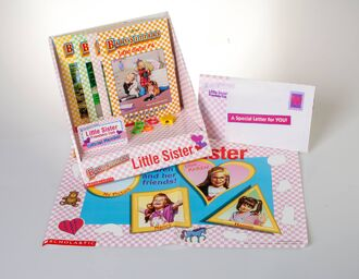 Baby-sitters Little Sister friendship book club intro pack items