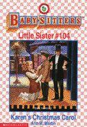 Baby-sitters Little Sister 104 Karens Christmas Carol cover