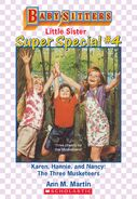 Baby-sitters Little Sister SS4 Karen Hannie and Nancy ebook cover