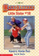 Baby-sitters Little Sister 18 Karens Home Run cover