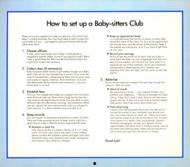 1990 Calendar How to Set Up a BSC
