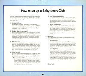 1990 Calendar How to Set Up a BSC