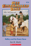 BSC 54 Mallory Dream Horse ebook cover