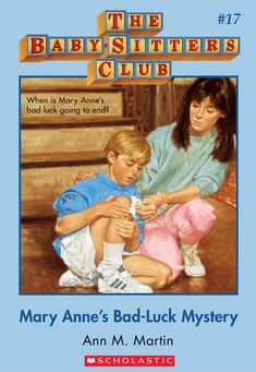 Baby-Sitters Club 17 Mary Annes Bad Lucky Mystery cover
