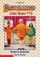 Baby-sitters Little Sister 13 Karen's Surprise cover