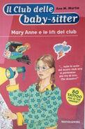 Il Club delle baby-sitter 04 Mary Anne liti del club italian cover