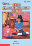 Baby-sitters Club books 33-36 box set original covers