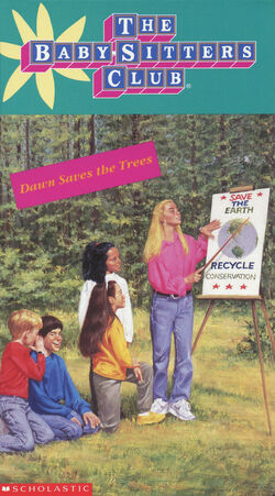 11 Dawn Saves the Trees BSC VHS front KidVision