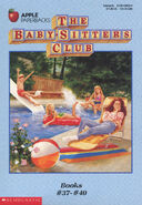 Baby-sitters Club books 37-40 box set original covers