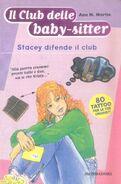 Il Club delle baby-sitter 03 Stacey difende il club italian cover