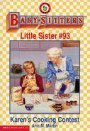 Baby-sitters Little Sister 93 Karens Cooking Contest cover