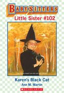 Baby-sitters Little Sister 102 Karens Black Cat ebook cover