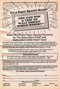 Winter SS Giveaway Disney World Resort from 60 orig 1stpr 1992
