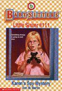 Baby-sitters Little Sister 111 Karens Spy Mystery cover
