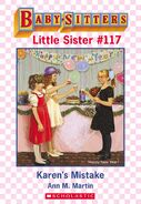 Baby-sitters Little Sister 117 Karens Mistake ebook cover