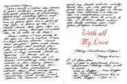 Secret Santa Card 9 Mary Anne to Logan inside