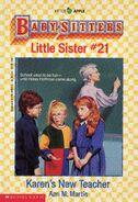 Baby-sitters Little Sister 21 Karens New Teacher cover