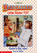 Baby-sitters Little Sister 27 Karens Big Joke cover