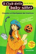 Il Club delle baby-sitter 02 Claudia fantasma telefono italian cover