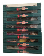 7 Kenner doll boxes right side