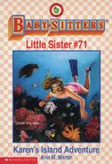 Baby-sitters Little Sister 71 Karens Island Adventure cover