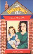 Baby-sitters Club 14 Hello Mallory UK cover