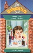 Baby-sitters Club 4 Mary Anne Saves the Day UK cover